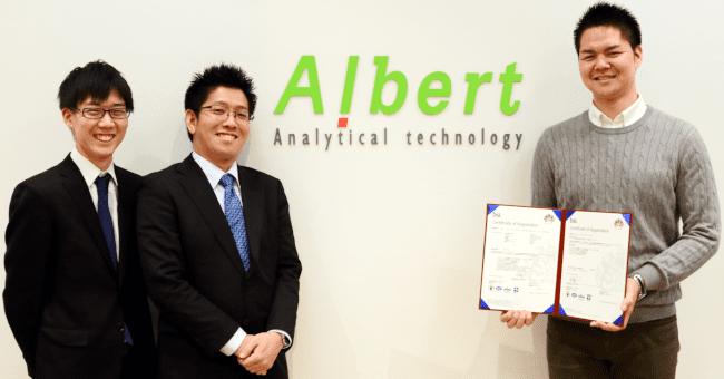 株式会社ALBERT様、お忙しい中、有り難うございました。今後ともどうぞよろしくお願いいたします。