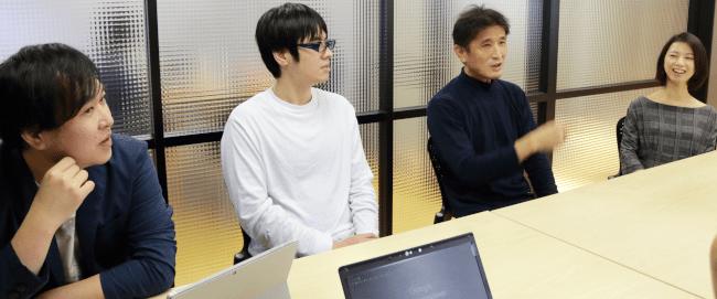 「実効性のあるマネジメントシステムを維持していくための下地は作れました」(左から長澤氏、田村氏、信本氏、信谷氏)