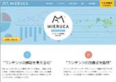 『職人とテクノロジーの融合』をテーマとする同社が開発した純国産マーケティングツール『MIERUCA』。大手企業への導入も進む。