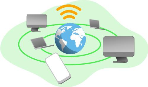 ネットワークのイメージ画像