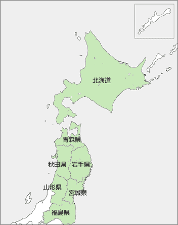 ISO27701 東北地方・北海道対応