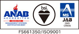 QMS認証ロゴ