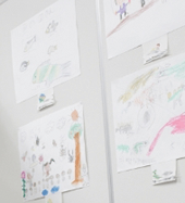 人材派遣スタッフのお子さんの絵を募集してコンテスト開催