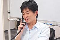 コンサルタントによる電話応対